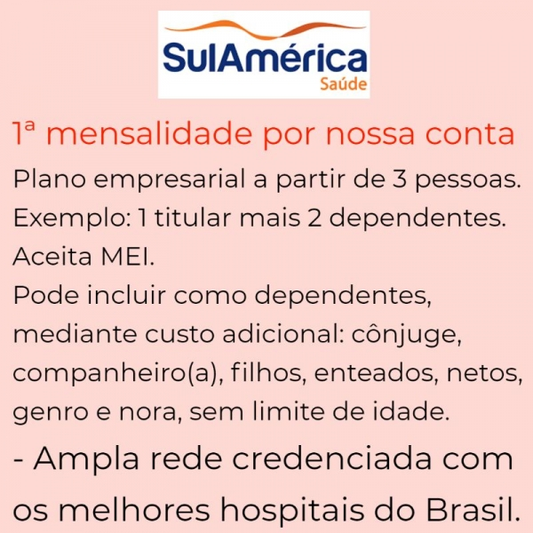 Sul América Saúde Empresarial – Vitória-ES