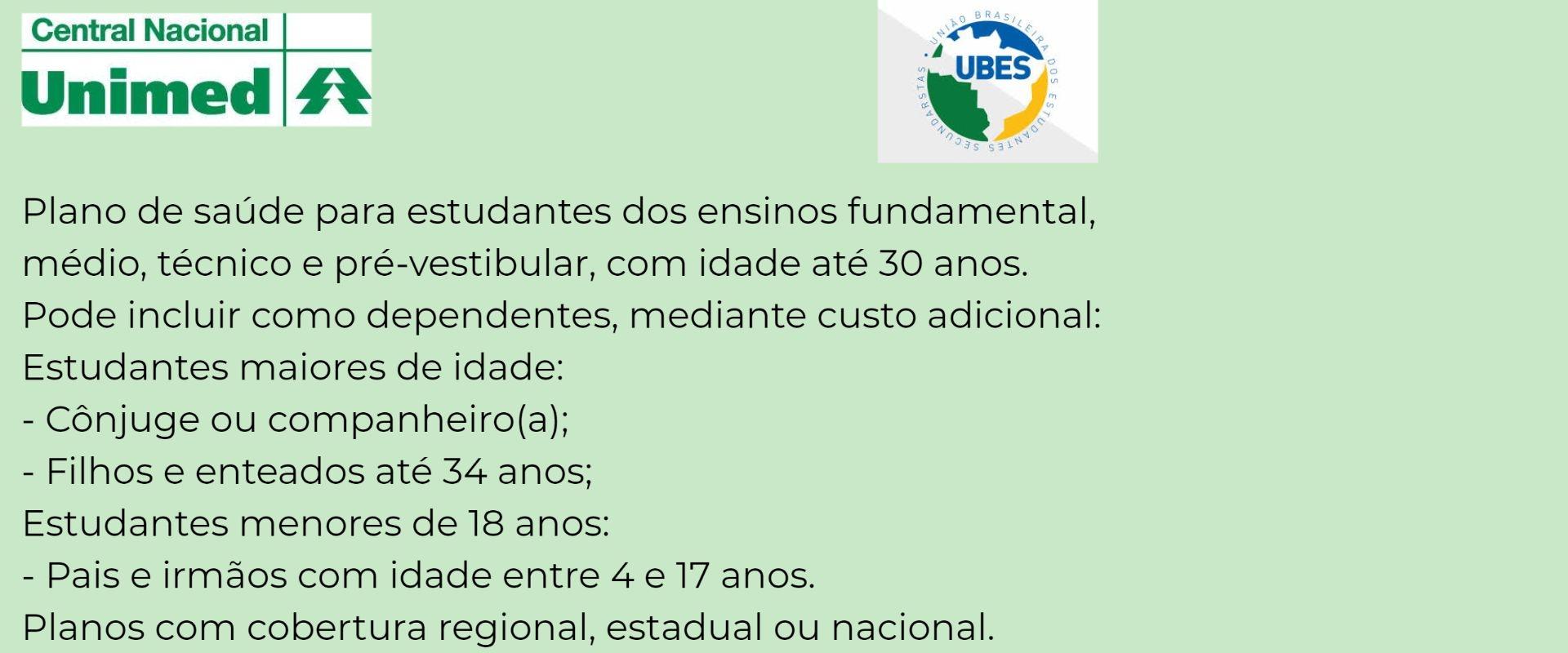 Unimed Estudantil UBES em Itabuna